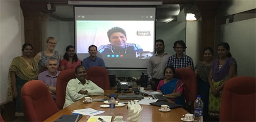 WP 5 meeting in India in March 2018